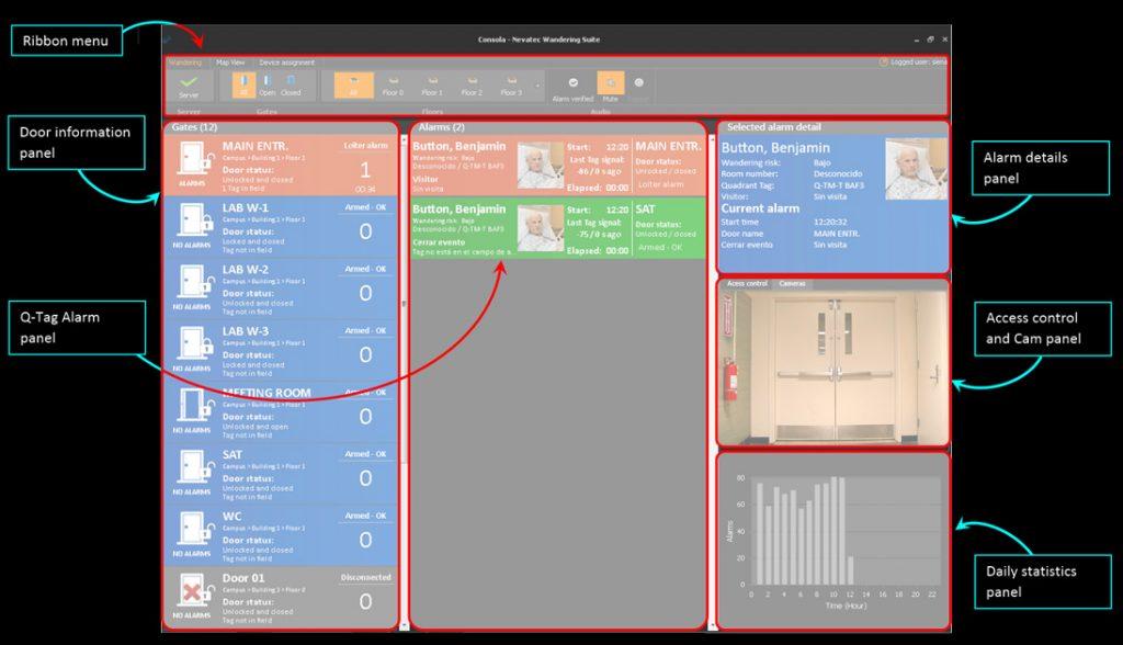 Wandering Suite Potente software de control de errantes